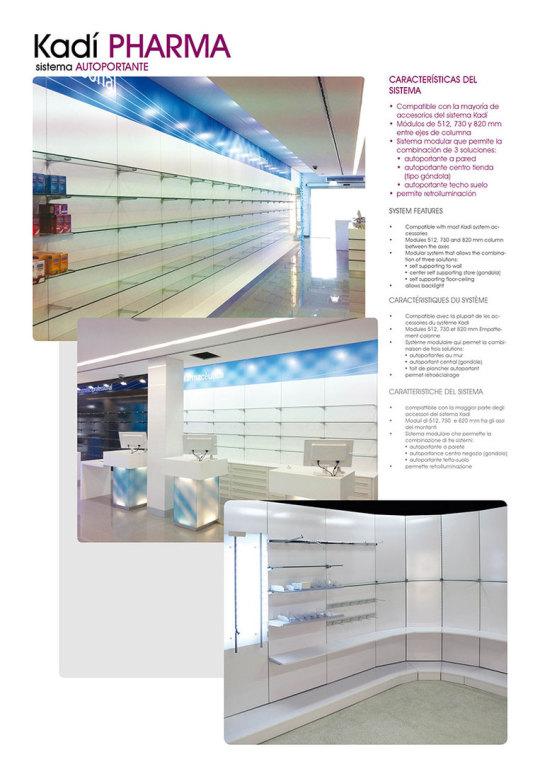 Mobiliario para Farmacia en Barcelona