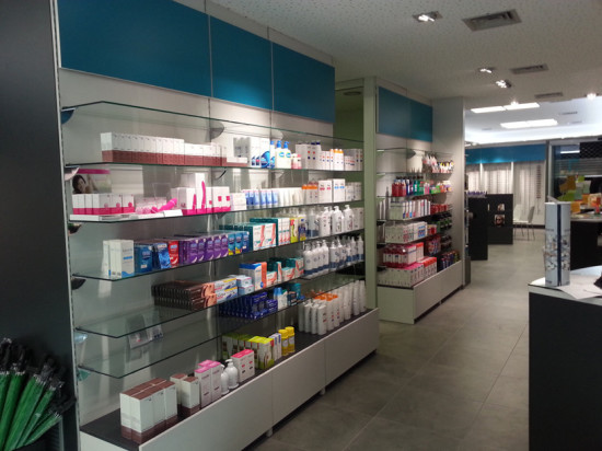Mobiliario Farmacia en Barcelona